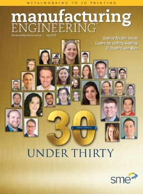 SME's '30 Under 30' Future Leaders of Manufacturing
